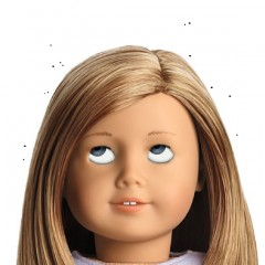 New Little Laura Louse Doll Grows REAL Head Lice, Has World's Tiniest Comb