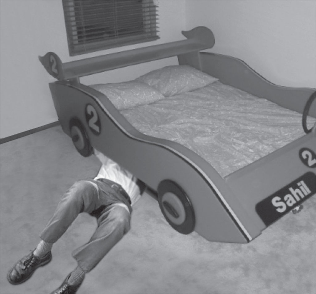 used-race-car-bed